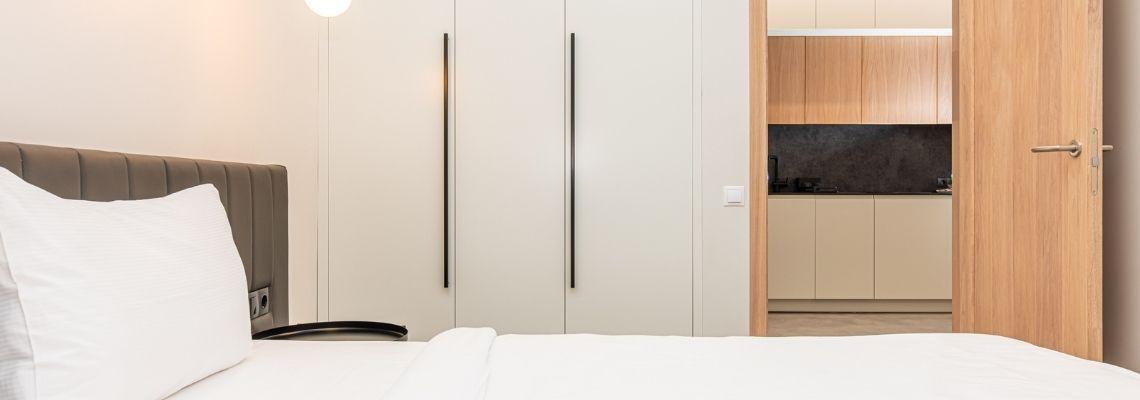 Vieno miegamojo apartamentai (įkurti viešbučio centriniame korpuse)